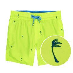 jongens mini palms zwemshort geel