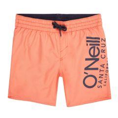 jongens cali side logo zwemshort oranje