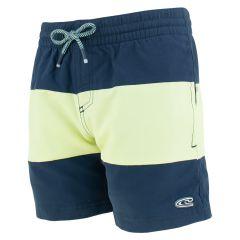 jongens block zwemshort blauw & geel