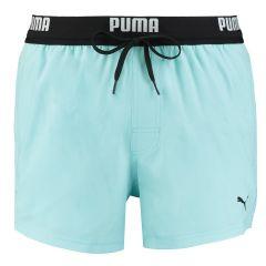 rits runner zwemshort logo waistband blauw II