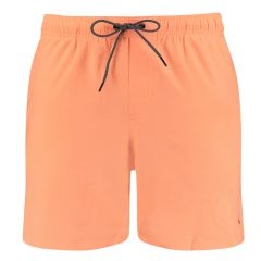 basic mid rits zwemshort oranje