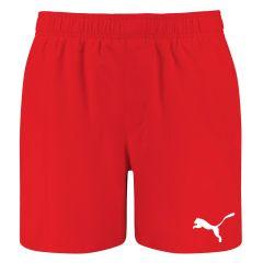 zwemshort basic mid rood