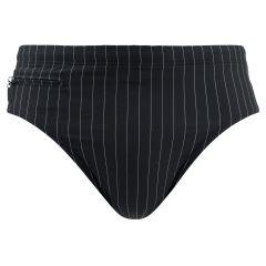 rits zwemslip sir verticale streep zwart