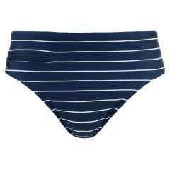 rits zwemslip stripe blauw