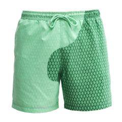 jongens kleurveranderende zwembroek bermuda's secret groen
