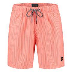 skinny stripe zwemshort oranje