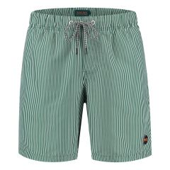 skinny stripe zwemshort groen