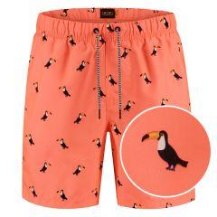 zwemshort tucan oranje