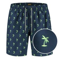 palm zwemshort blauw