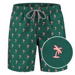 palm zwemshort groen