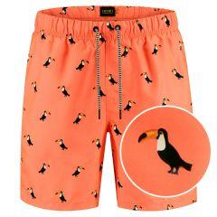 tucan zwemshort oranje