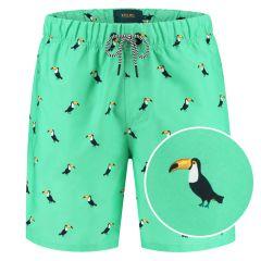 tucan zwemshort groen