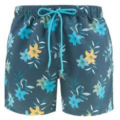 flowers zwemshort blauw