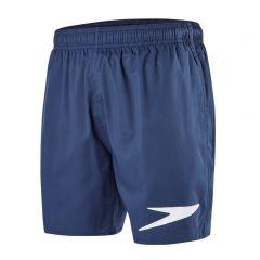 short sport solid blauw