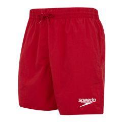 """essential 16"""" zwemshort rood"""