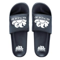 costa logo slippers blauw