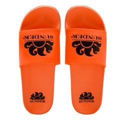 costa logo slippers oranje