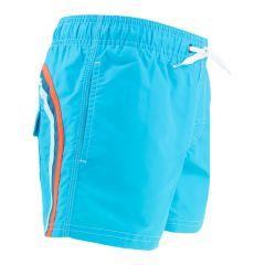 jongens elastic waist zwemshort blauw