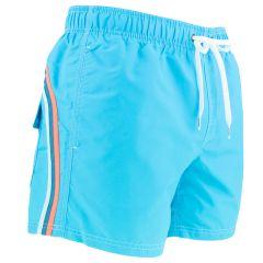 elastic waist zwemshort blauw II