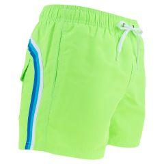elastic waist zwemshort groen