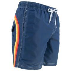 elastic waist II zwemshort blauw