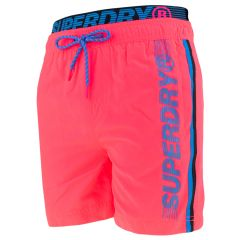 state volley rits zwemshort roze