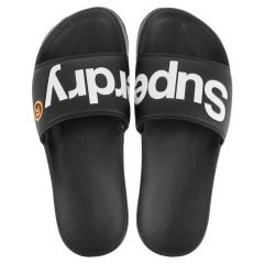 slippers classic pool slide zwart