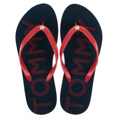 dames teenslippers tommy logo multi