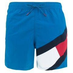 big flag leg logo zwemshort blauw III
