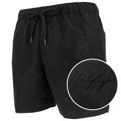 hilfiger logo zwemshort zwart